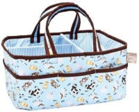 Trend Lab Baby Barnyard Storage Caddy Tote Diaper Bag (Multicolor)