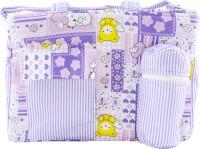 Ole Baby Big Multi-Utility Little Hearts Cute Print Tote Diaper Bag (Multicolor)