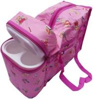 GoMerryKids Toys Print Warmer Diaper Bag (Pink)