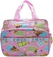 Wonderkids Baby Teddy Print Nursery Bag (Pink) - DBGE3GBRH42AYYVK
