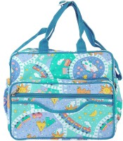 A Baby Multi Utility Nursery Messenger Diaper Bag (Blue)