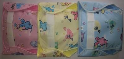 Love Baby 634 Plastic Pocket Diaper - Medium (3 Pieces)