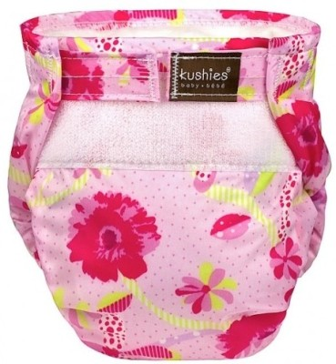 Kushies Ultra-Lite Diaper To the Fresh Pink - New Born