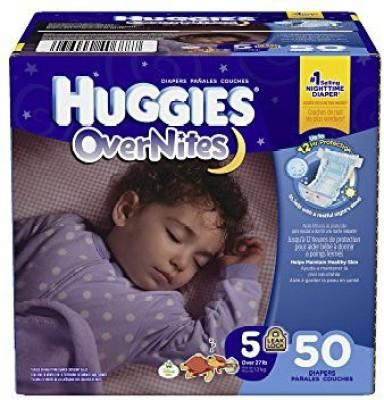 Huggies Overnites Diapers - Medium (50 Pieces)