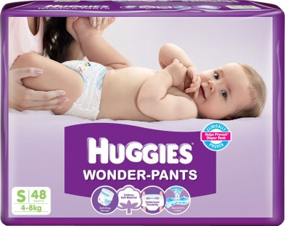 Huggies Wonder Pants Small 48 Piece Diapers at Rs 429 from Flipkart