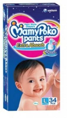 Mamy Poko Pants Diaper - Large (52 Pieces)