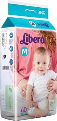 Khareedi Libero Open Diapers - Medium (40 Pieces)