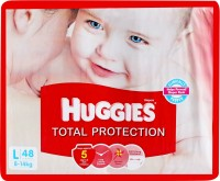 Huggies Total Protection Diaper - Large: Diaper