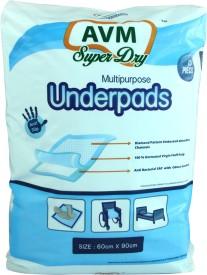 AVM SUPER DRY Multipurpose Underpads - Large