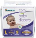 Himalaya Baby Diapers - Large - 9 Pieces