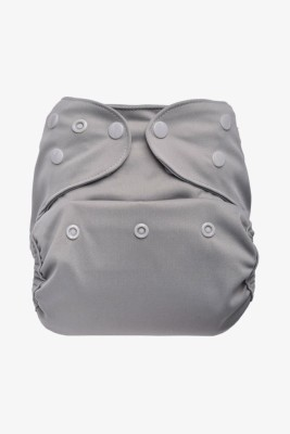 Bumberry Diaper Cover (Grey) - One - Size (1 Pieces)
