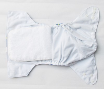 TheTickleToe Cloth Diaper with Snaps - Car - Free Size (1 Pieces)