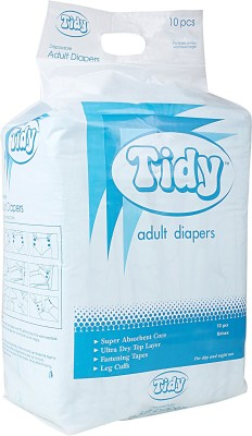 Tidy Adult Diaper - XL (10 Pieces)