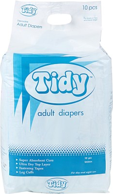Tidy Adult Diaper - L (2 Pieces)