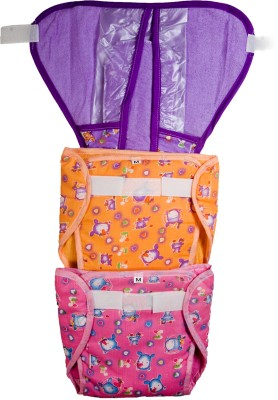 Love Baby 534 Pocket Diaper Combo - Medium (3 Pieces)