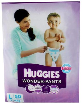 Huggies Size Wonder Pants - Large (50 Pieces)