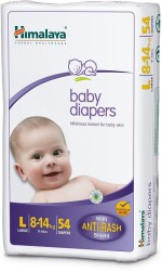 Himalaya Baby Large Size Diapers with 54 pcs