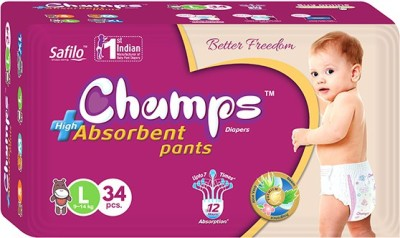 Champs High Absorbent Pants - Large (48 Pieces)