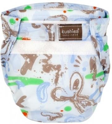 Kushies Ultra-Lite Diaper Milky Blue - New Born