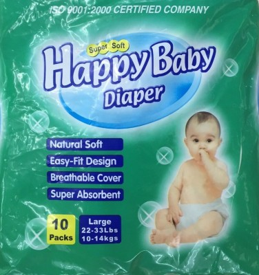 Happy Baby Pants - Large (10 Pieces)