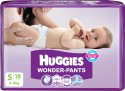 Huggies Wonder-pants - Small - 18 Pieces
