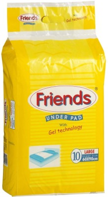 Friends Under Pads - Large (10 Pieces)