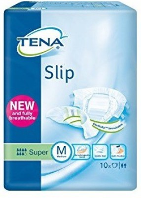 Tena Slip Adult Diaper - Medium (10 Pieces)
