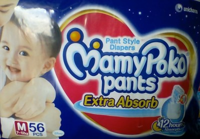 Mamy Poko Pants Extra Absorb - Medium (56 Pieces)