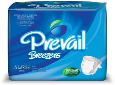 Prevail Breezers Adult Briefs - Large (18 Pieces)
