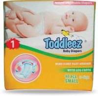 Toddleez Baby Diaper - Small (48 Pieces)