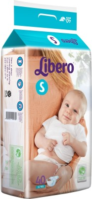 Libero Open Diapers - Small (40 Pieces)