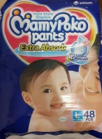 Mamy Poko Pants Diaper Combo -Large - Large (48 Pieces)