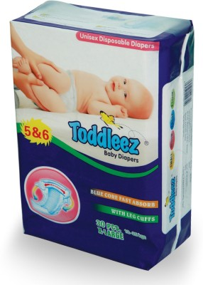 Toddleez Baby Diaper - X-Large (30 Pieces)