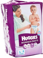 Huggies Wonder Pant L-8 - Large (8 Pieces)