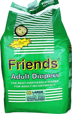 Friends Adult Diapers - Large (1 Pieces)