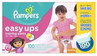 Pampers Easy Ups Training Pants Diapers - Small (100 Pieces)