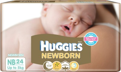 Huggies New Born (24 Pieces)