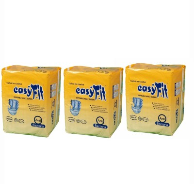 Easyfit Disposable Adult Diapers - Medium (10 Pieces)