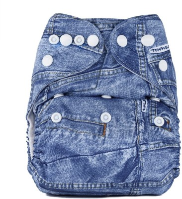 Bumberry Pocket Diaper (Jeans) - One - Size (1 Pieces)