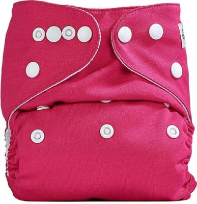 Bumberry Pocket Diaper (Raddish Pink) - One - Size (1 Pieces)