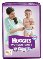 Huggies Wonder-Pant M-9 - Medium (9 Pieces)