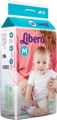 Libero Open Diapers - Medium (40 Pieces)