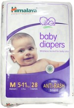 Himalaya Baby Diapers Medium 28 pieces Pack of 2