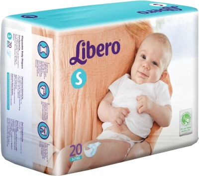 Libero Disposable Baby Diapers - Small (20 Pieces)