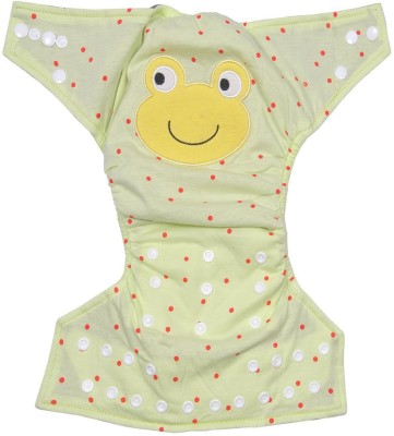 Cosy Cloth Diaper Cover + One Natural Cotton Insert - Medium (1 Pieces)