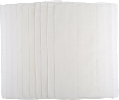 Gerber Birdseye 3-Ply Prefold Cloth Diapers, White, 10 Count - One Size (10 Pieces)