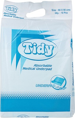 Tidy Underpad - Free Size (10 Pieces)