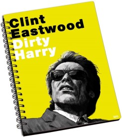 Shoprock Clint Eastwood A5 Notebook Ring Bound