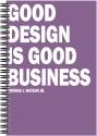 Art Emporio Good Design Is Good Buisness A5 Notebook Spiral - Multicolor