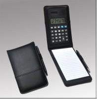 Printzara Notepad With Calculator Regular Note Pad Hard Bound (Black)